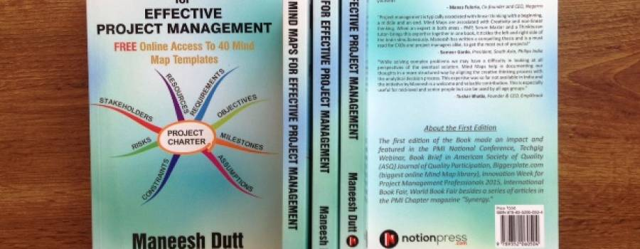 "2nd Edition of My Book ""Mind Maps for Effective Project Management"""