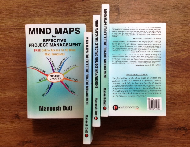 """2nd Edition of My Book """"Mind Maps for Effective Project Management"""""""