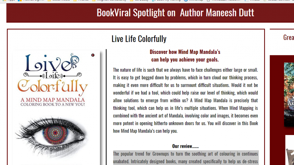 "Live Life colorfully: ""..powerful tool for turning great ideas into a functional reality"""