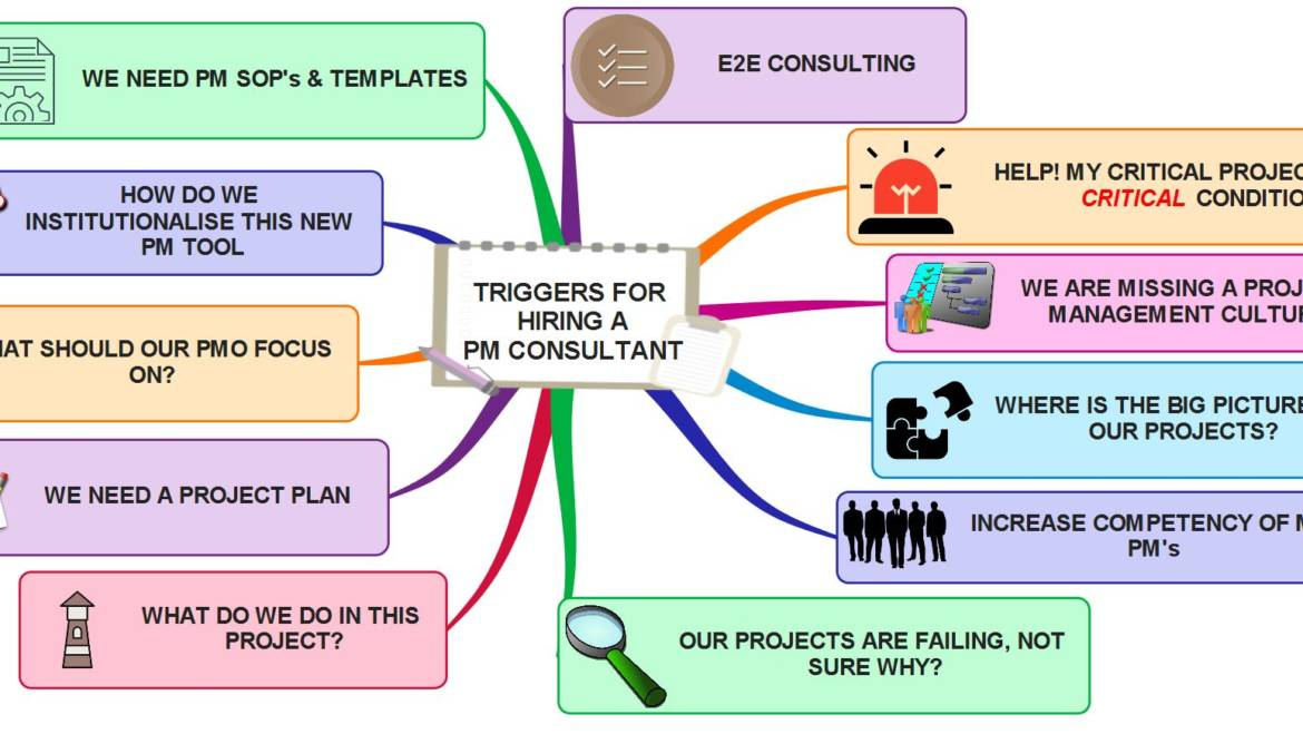 Triggers for hiring a Project Management Consultant